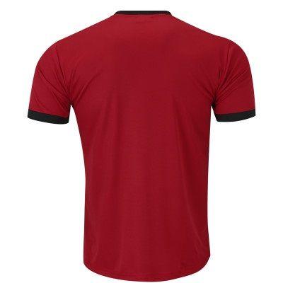Camiseta Kappa Striker Masculina - Vermelho