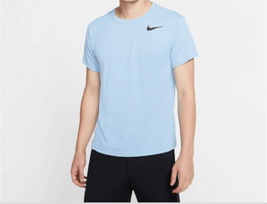 Camiseta Nike Breathe Superset - Masculino - Azul Claro