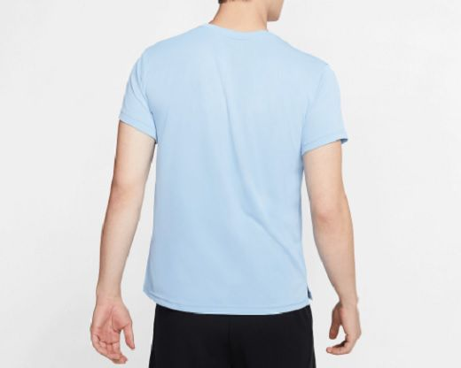 Camiseta Nike Breathe Superset - Masculino - Azul Claro