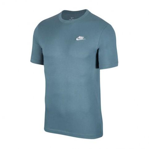 Camiseta Nike Sportwear Club Masculina - Azul Petróleo