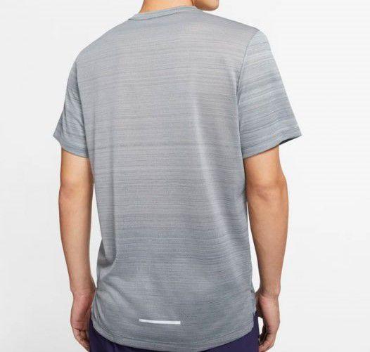 Camiseta Nike Dry Miler Masculina - Grafite