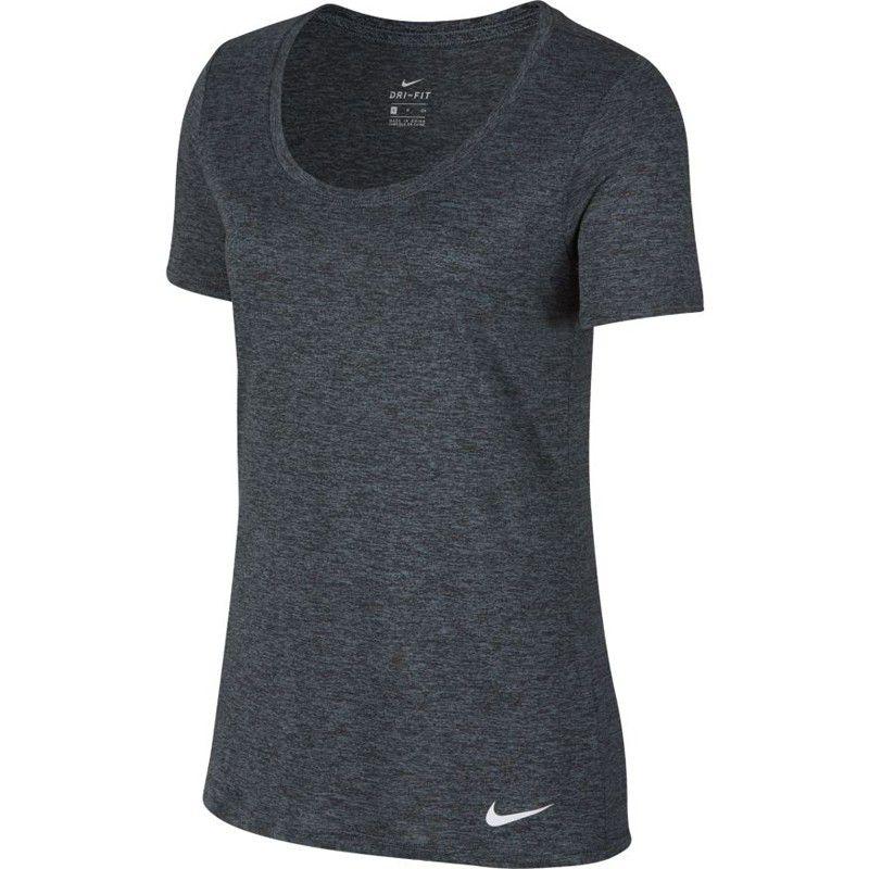 Camiseta Nike Dry Tee Feminina - Cinza