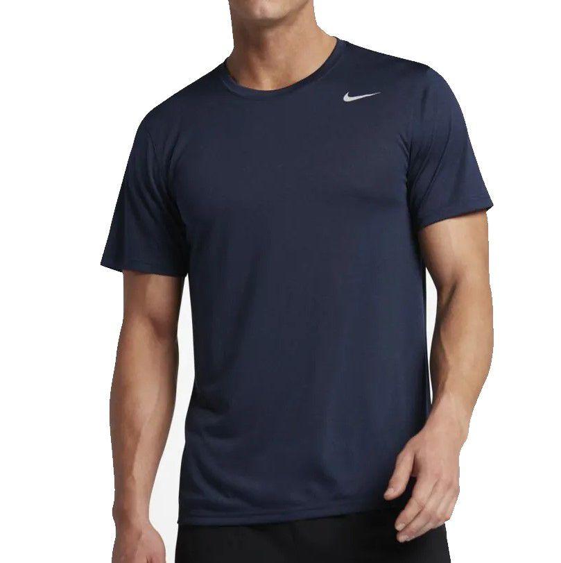 Camiseta Nike Dry Tee Masculina - Marinho