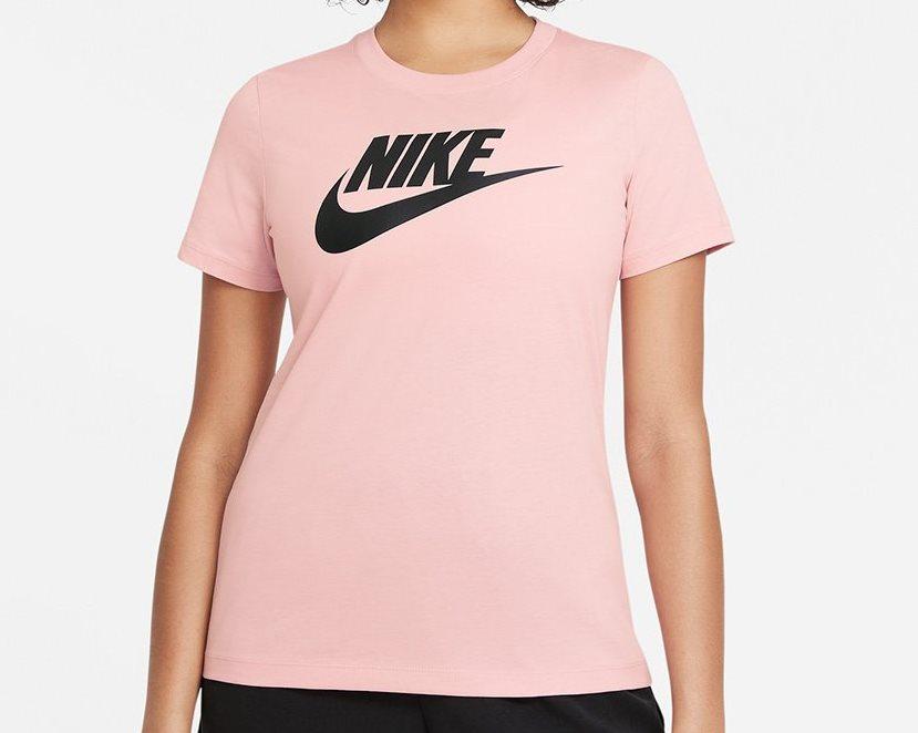 Camiseta Nike Essential Tee Feminina - Rosa