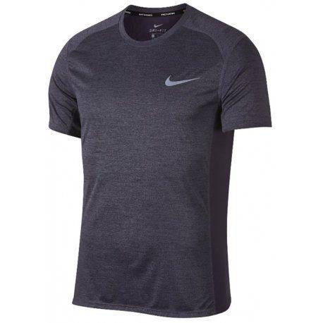 Camiseta Nike Miler Top Masculina - Grafite