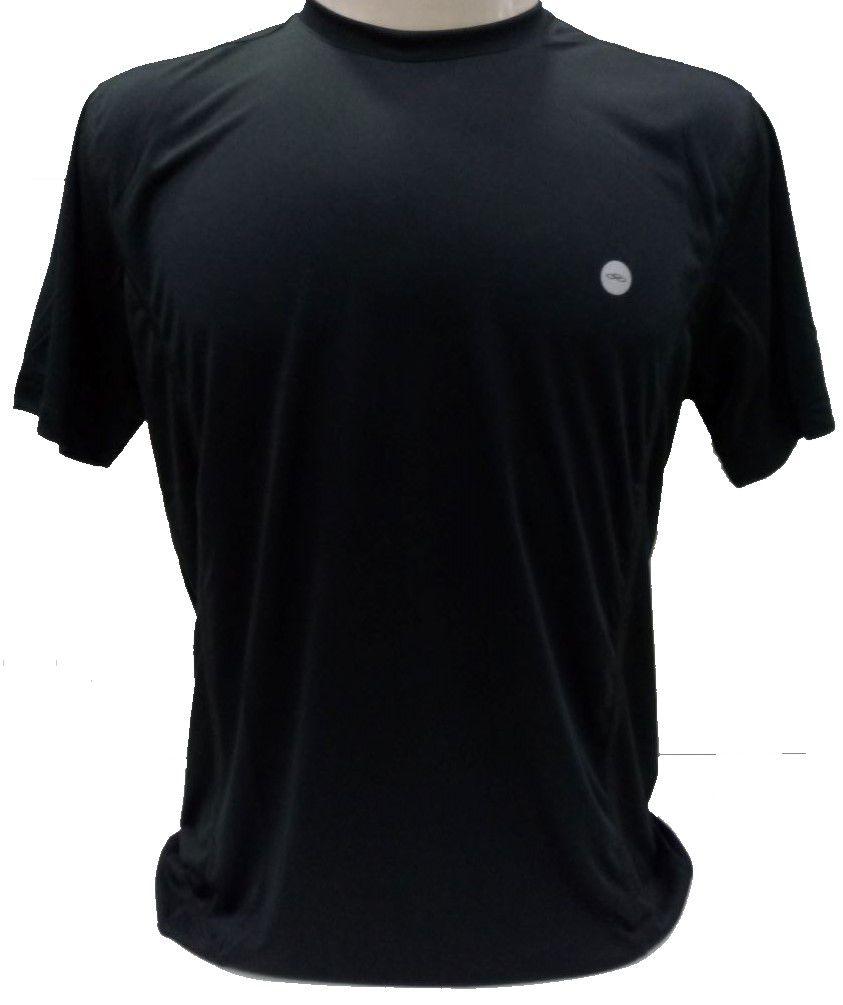 Camiseta Olympikus Recorte Mesh Masculina - Preta