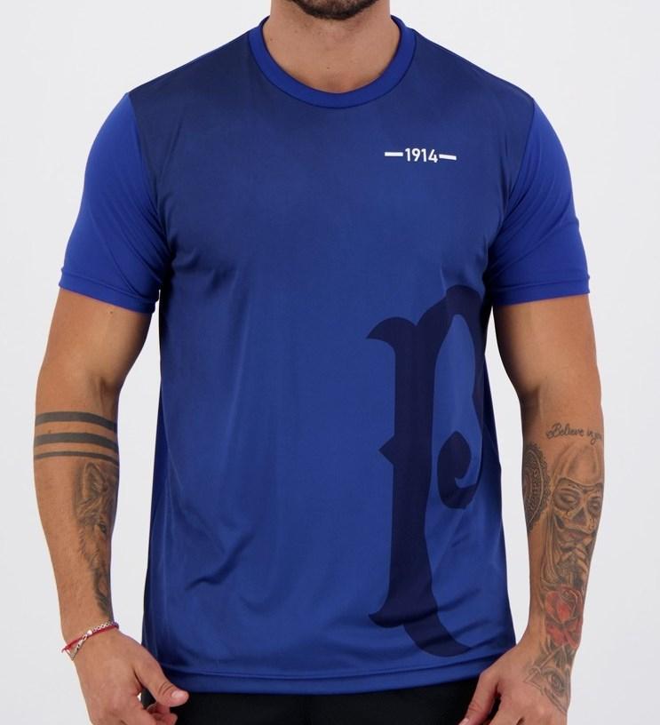Camiseta Palmeiras 1914 Masculina - Azul
