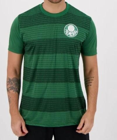 Camiseta Palmeiras Classic S E P Masculina - Verde