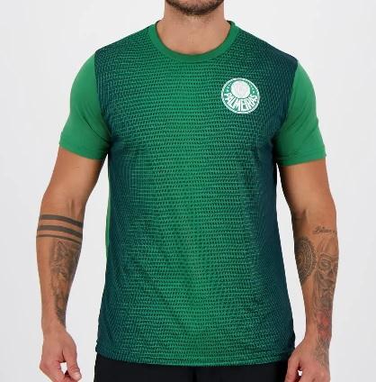 Camiseta Palmeiras Effect Masculina - Verde