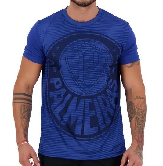 Camiseta Palmeiras Supporter Masculina - Azul