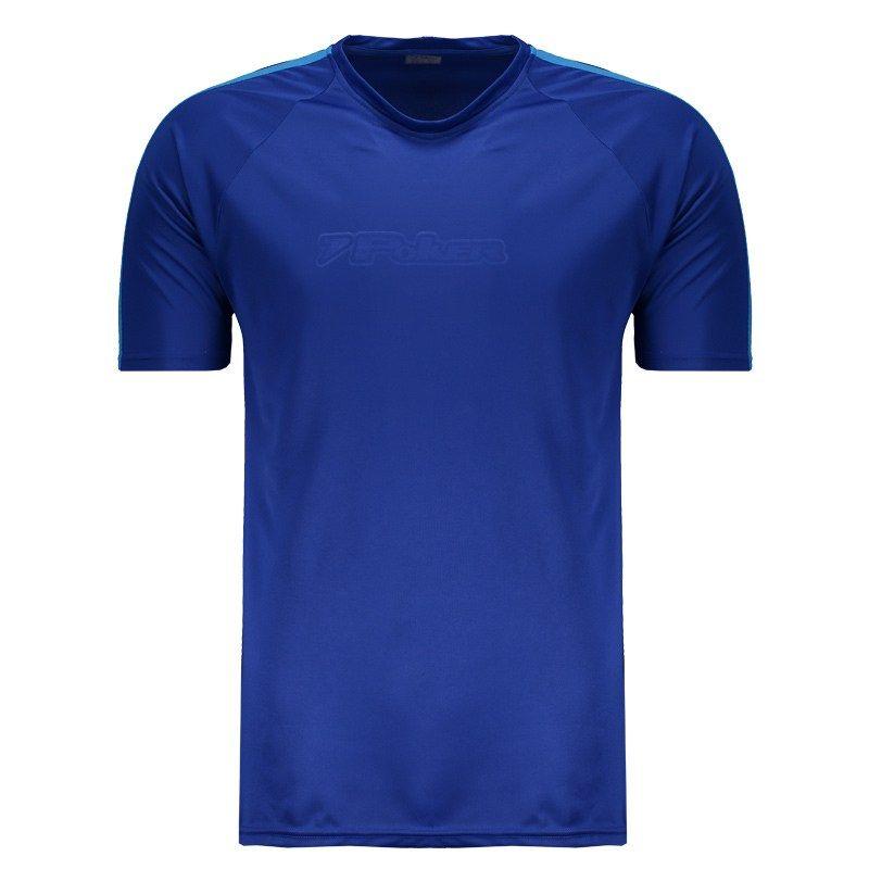 Camiseta Poker Berilio Masculina - Azul