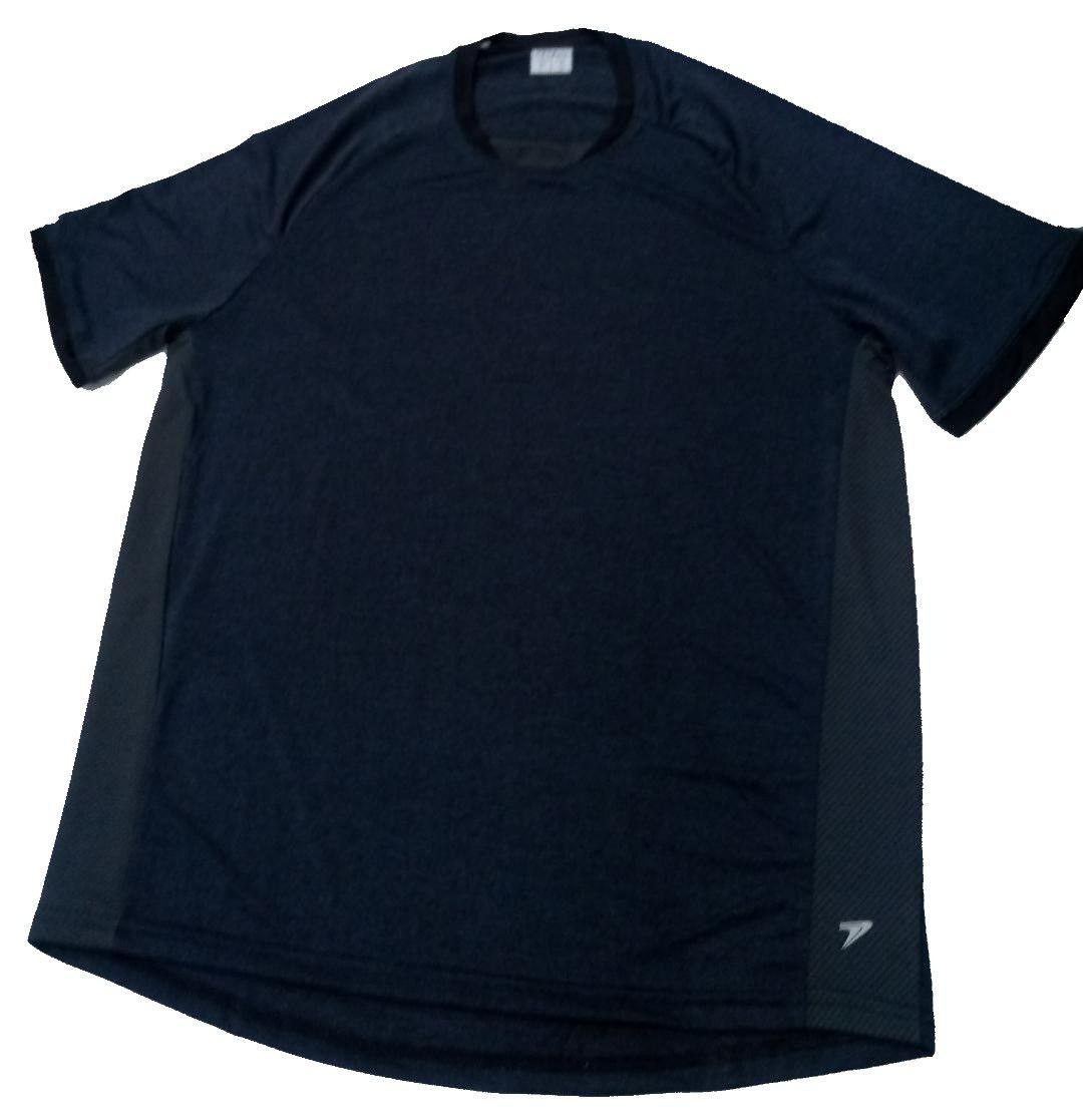 Camiseta Poker T-Shirt Sirius Masculina - Mescla e Preto
