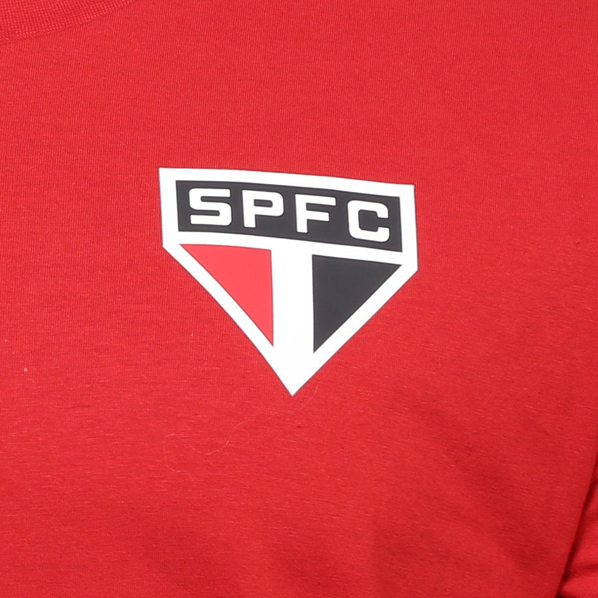 Camiseta São Paulo Basic - Masculino - Vermelho