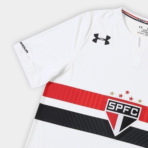 ac3f3ec74d184 Camisa São Paulo Oficial Under Armour Uniforme 1,2 E 3 - Joinville ...