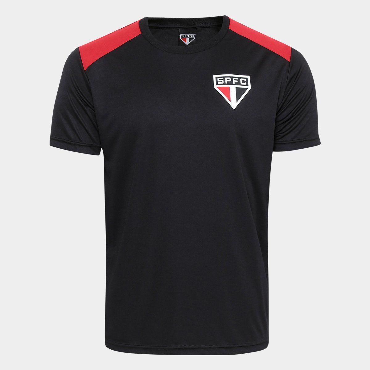 Camiseta São Paulo Vince - Masculino - Preto e Vermelho