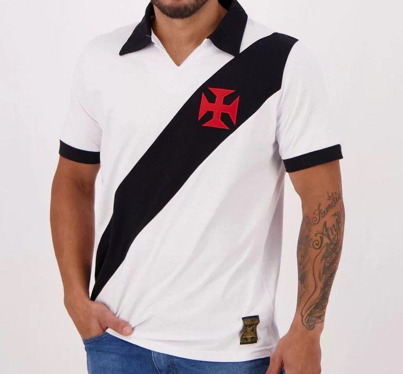 Camiseta Vasco Paris Polo Masculina - Adulto