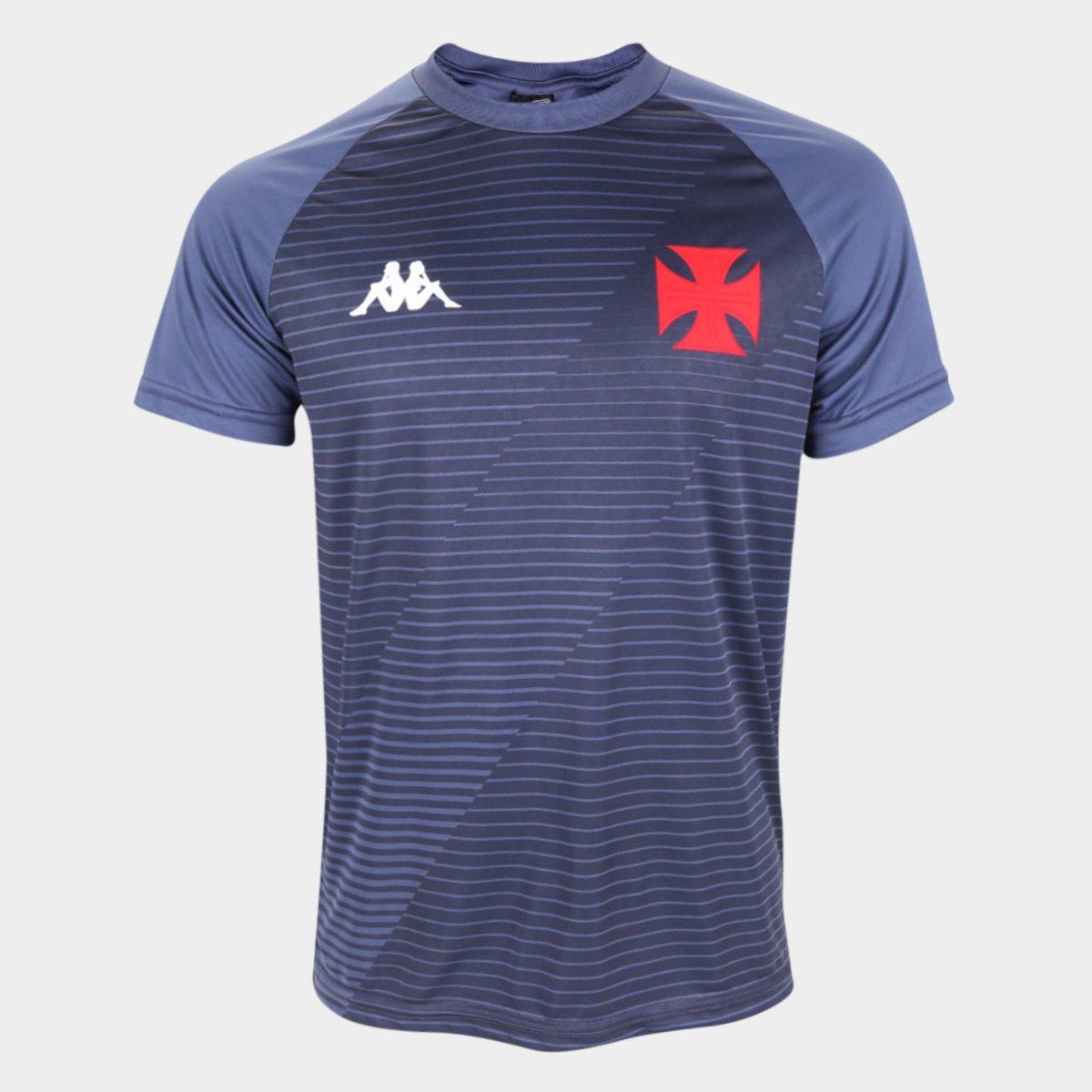 Camiseta Vasco Supporter Masculina - Grafite