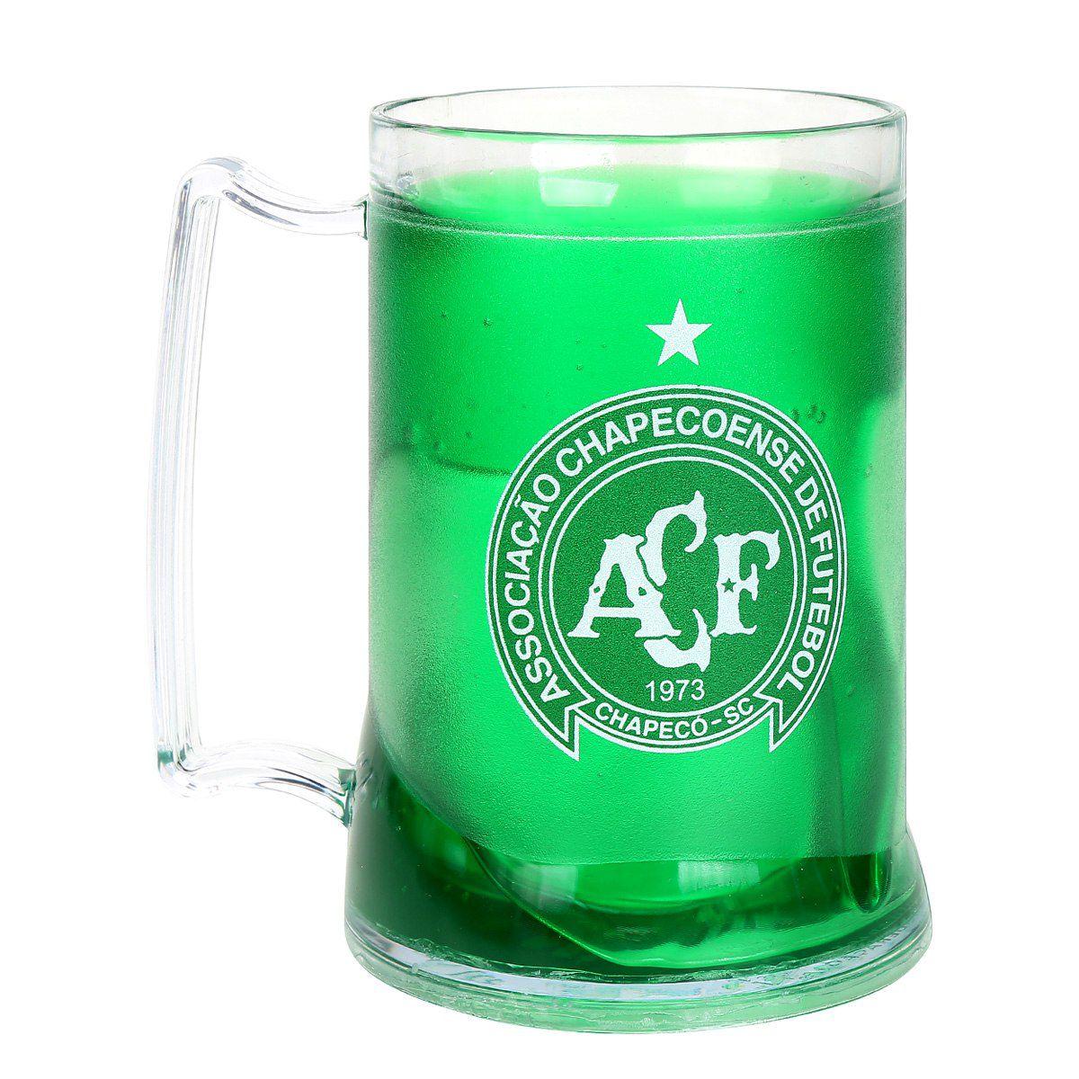 Caneca Gel Chapecoense Escudo - Verde