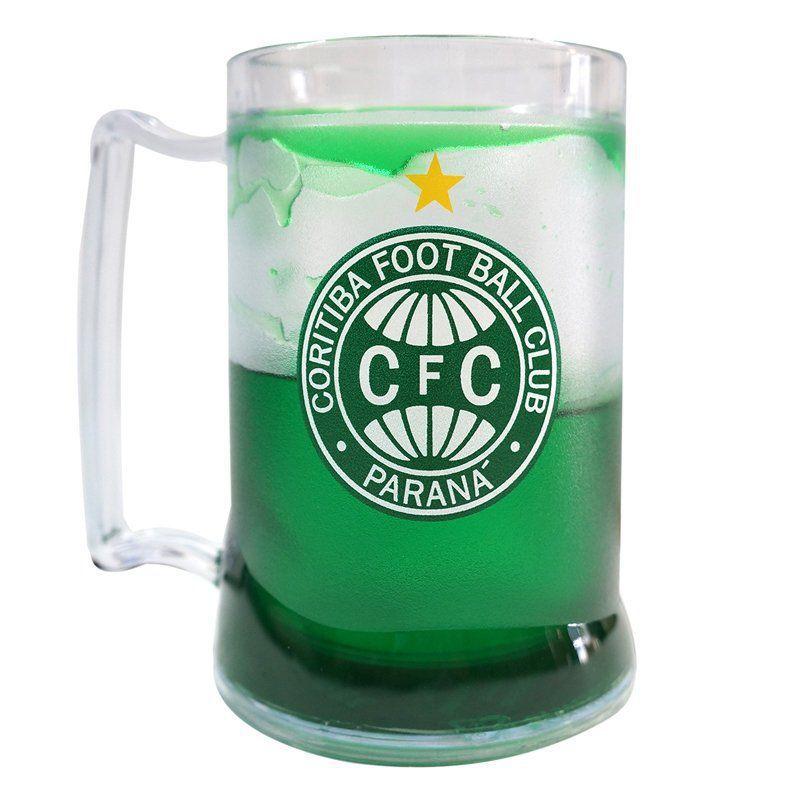 Caneca Gel Coritiba Escudo - Verde