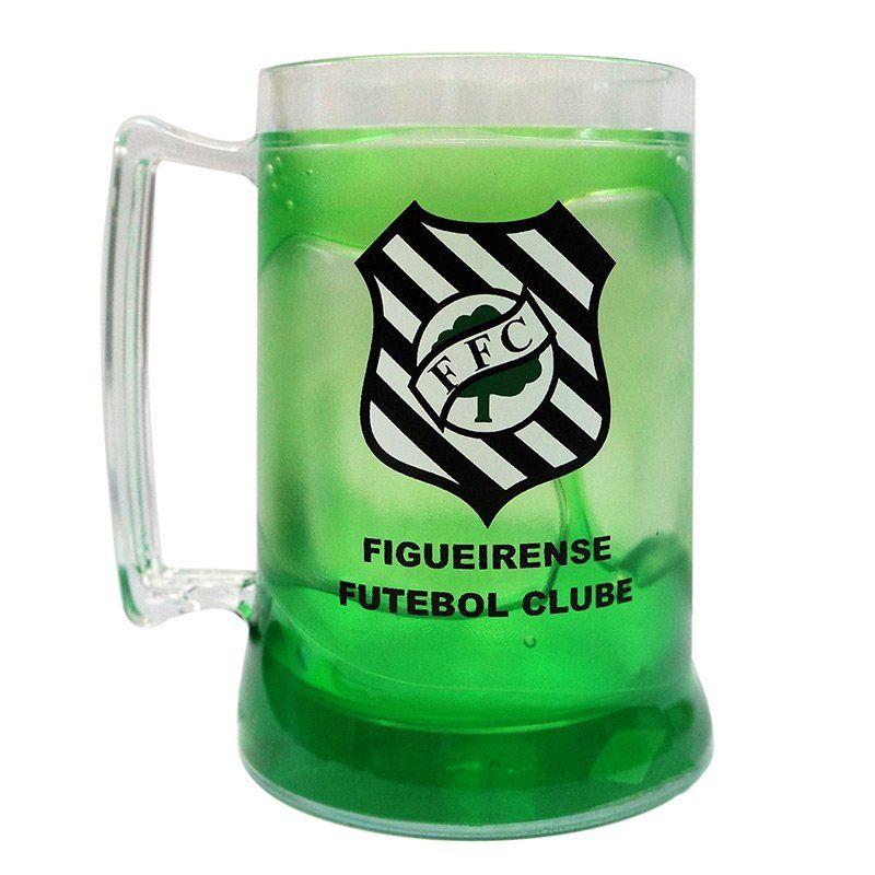 Caneca Gel Figueirense Escudo - Verde