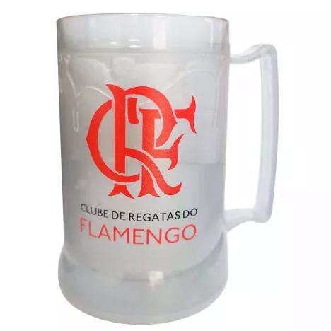 Caneca Gel Flamengo Brasão CRF - Prata
