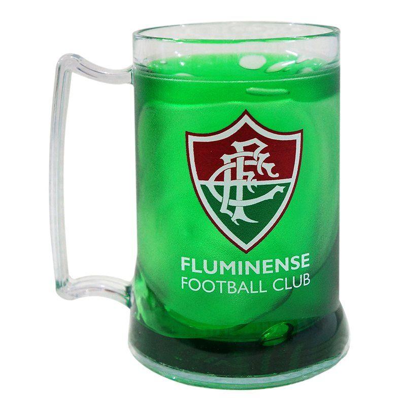 Caneca Gel Fluminense Escudo - Verde