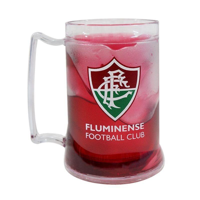 Caneca Gel Fluminense Escudo - Vermelho Escuro