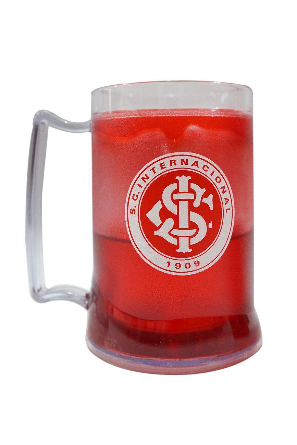 Caneca Gel Internacional Escudo - Vermelho