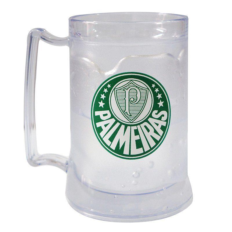Caneca Gel Palmeiras Incolor Escudo