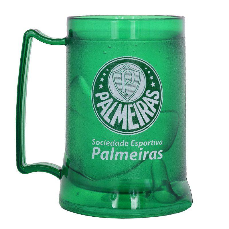 Caneca Gel Palmeiras Verde Escudo