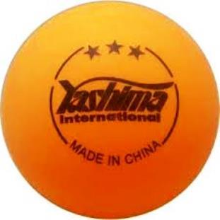 Cartela c/ 6 Bolas de Tênis de Mesa Yashima 3 Estrelas
