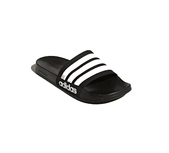 Chinelo adidas Adilette Shower Adulto - Preto/branco
