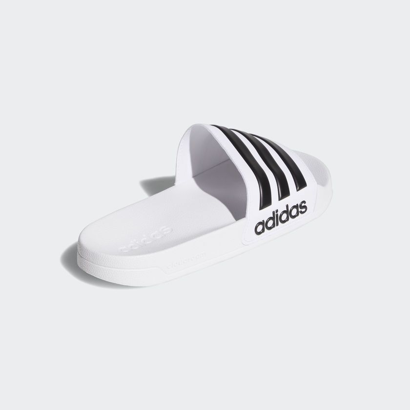 Chinelo Adidas Adilette Shower Masculino - Branco/Preto