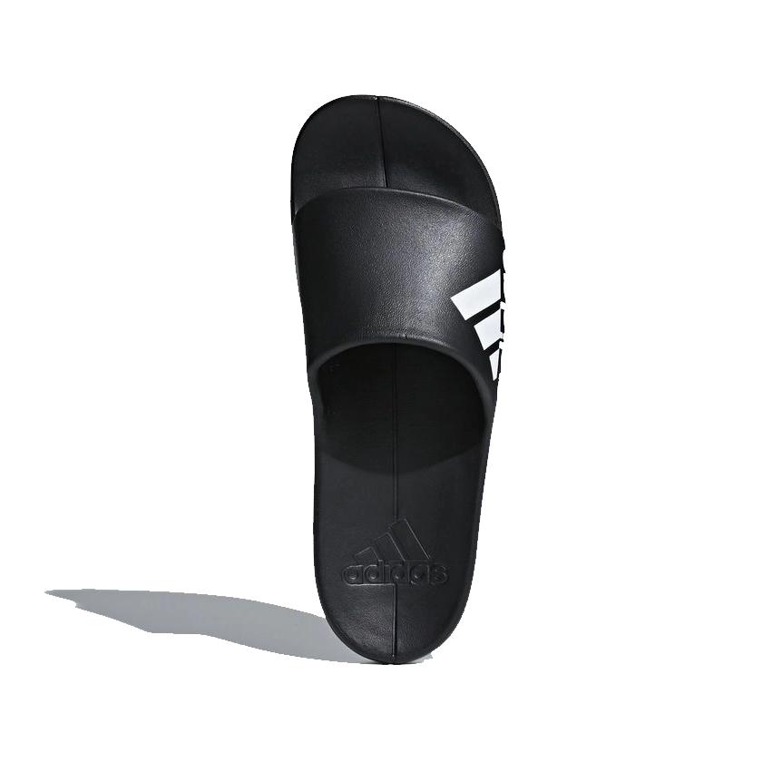 Chinelo Adidas Aqualette Cloudfoam Masculino - Preto/Branco