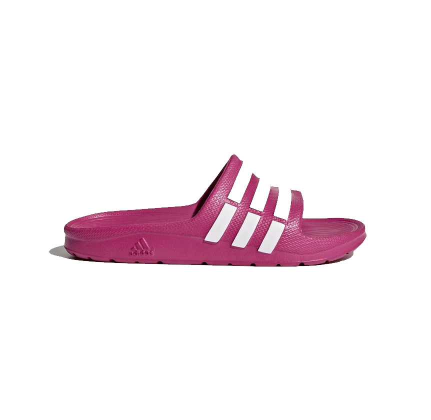 Chinelo Adidas Duramo Slide K Infantil - Rosa