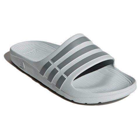 Chinelo Adidas Duramo Slide Masculino - Cinza