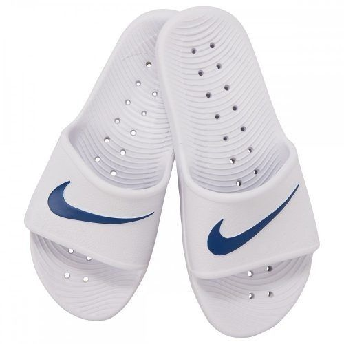Chinelo Nike Kawa Shower Masculino - Branco /Azul