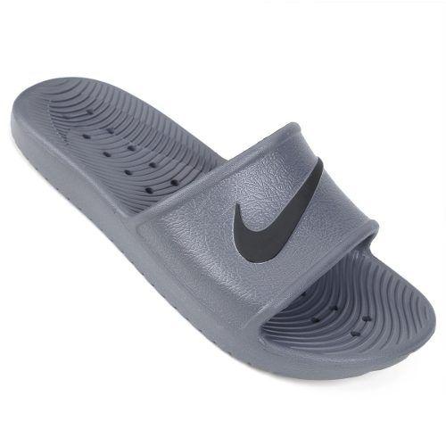 Chinelo Nike Kawa Shower Masculino - Cinza