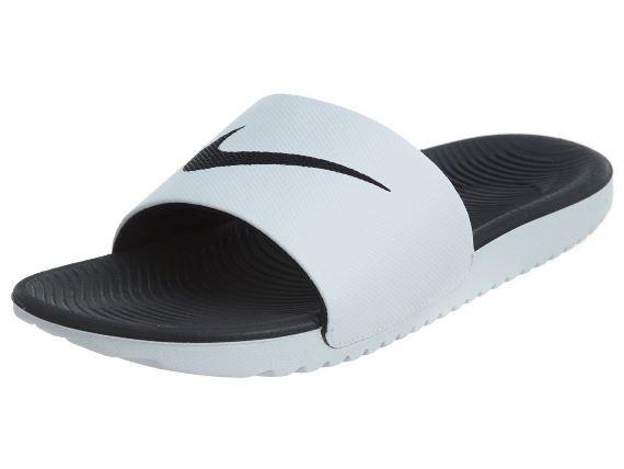 Chinelo Nike Kawa Slide Masculino - Branco e Preto