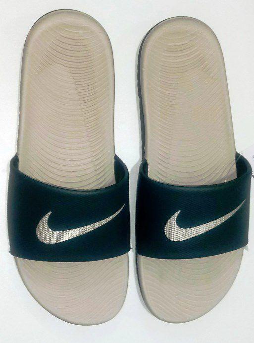 Chinelo Nike Kawa Slide Masculino - Adulto - Verde Musgo