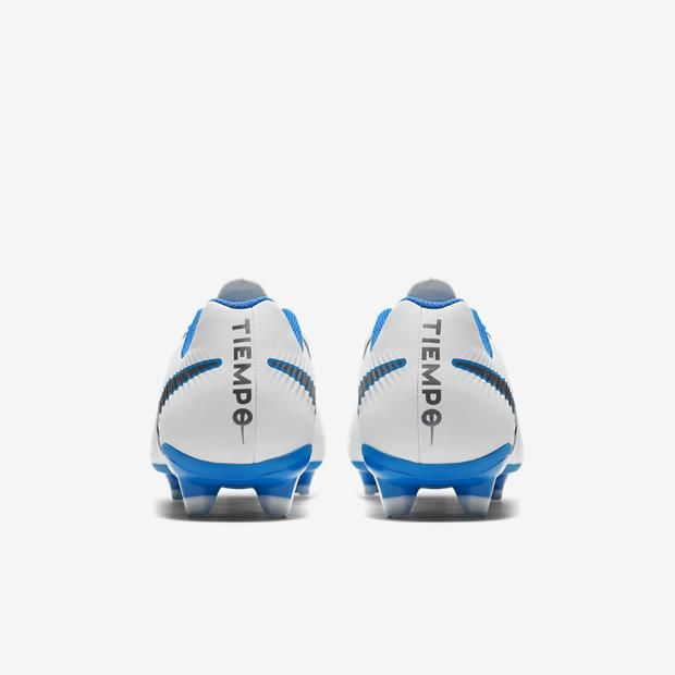 09039600df ... Chuteira Campo Nike Tiempo LegendX 7 Academy FG Masculino - Branco Azul  ...