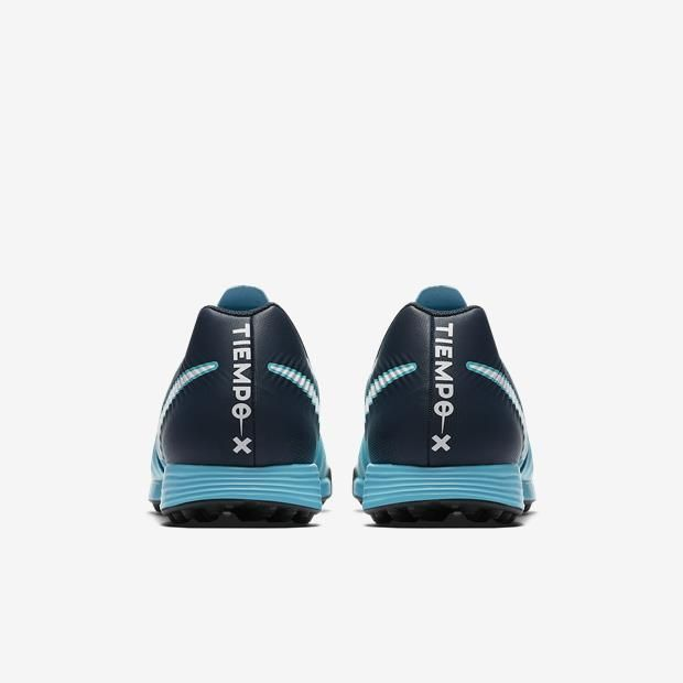 Chuteira Society Nike Tiempox Ligeira Tf Masculino - Azul Marinho