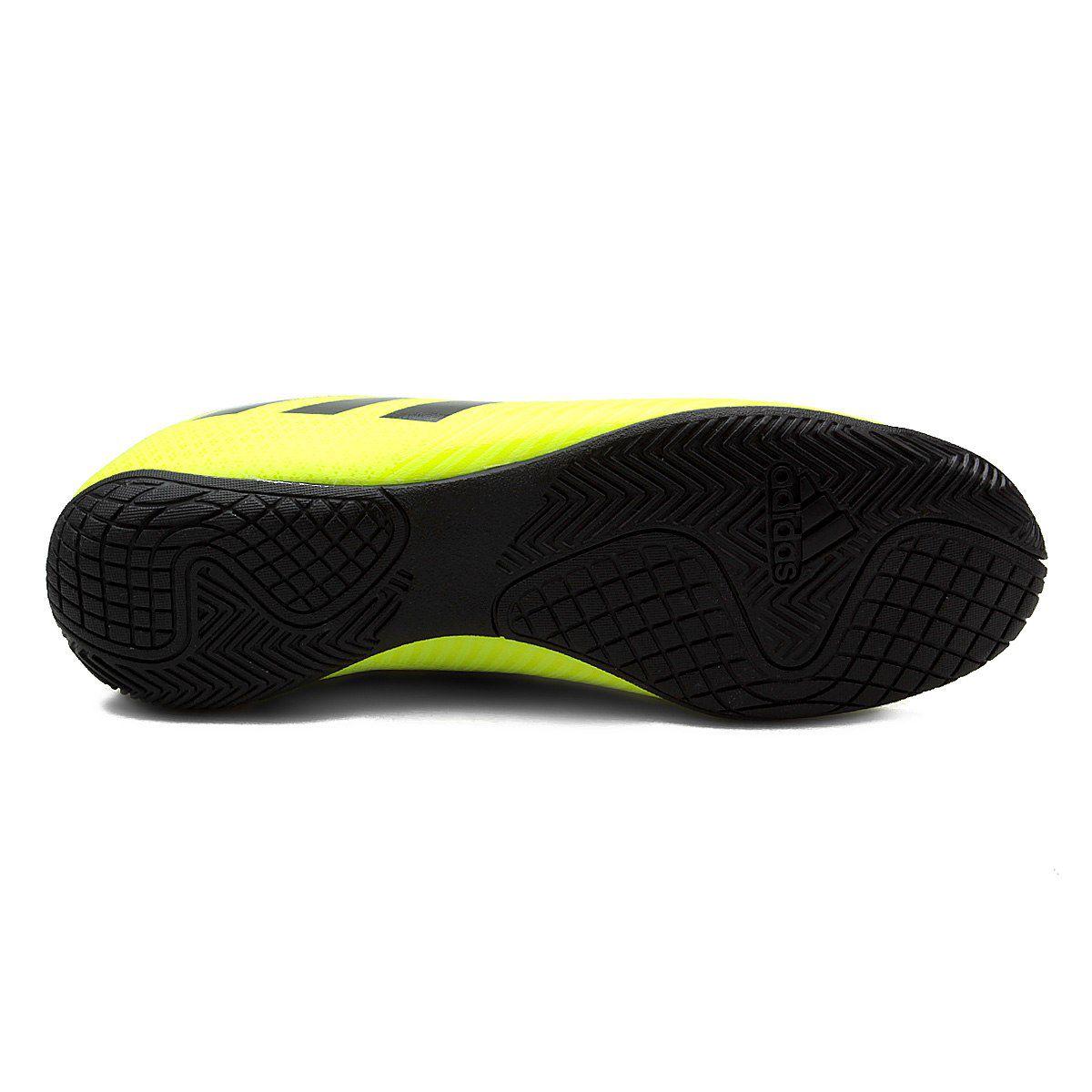 Chuteira Futsal Adidas Artilheira III IN - Amarelo/Preto