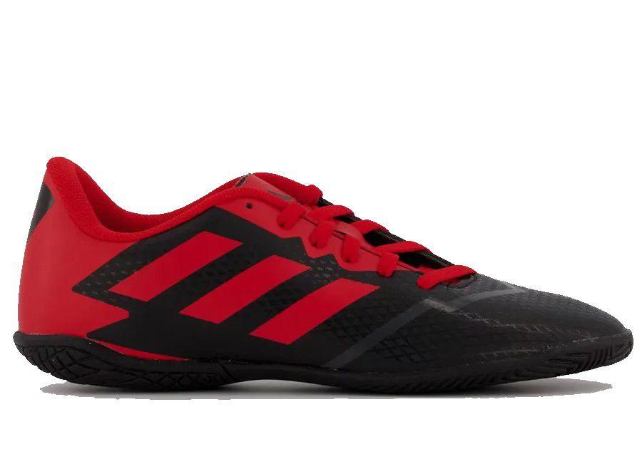 Chuteira Futsal Adidas Artilheira IV IN Masculina - Preto e Vermelho