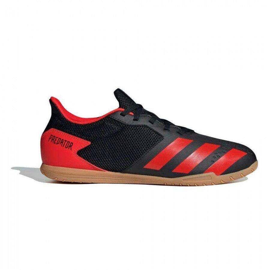 Chuteira Futsal Adidas Predator 20.4 In Sala - Preto/Vermelho