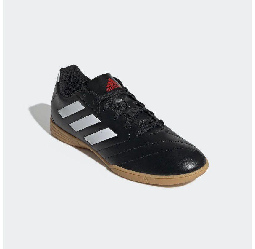 Chuteira Futsal Goletto VII Adidas - Masculino - Preto e Branco