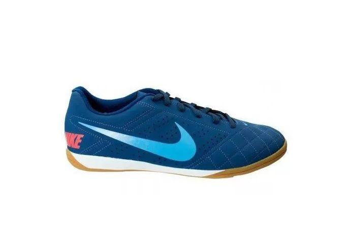 Chuteira Futsal Nike Beco 2 -Masculino - Azul