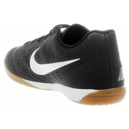 Chuteira Futsal Nike Beco 2 Masculino - Preto/Branco
