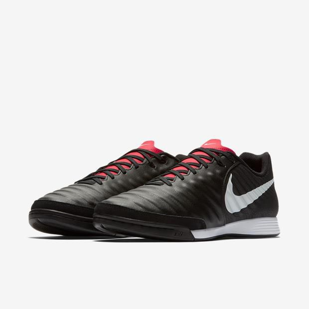 Chuteira Futsal Nike Tiempo Legend X 7 Acdm - Preto/Vermelho