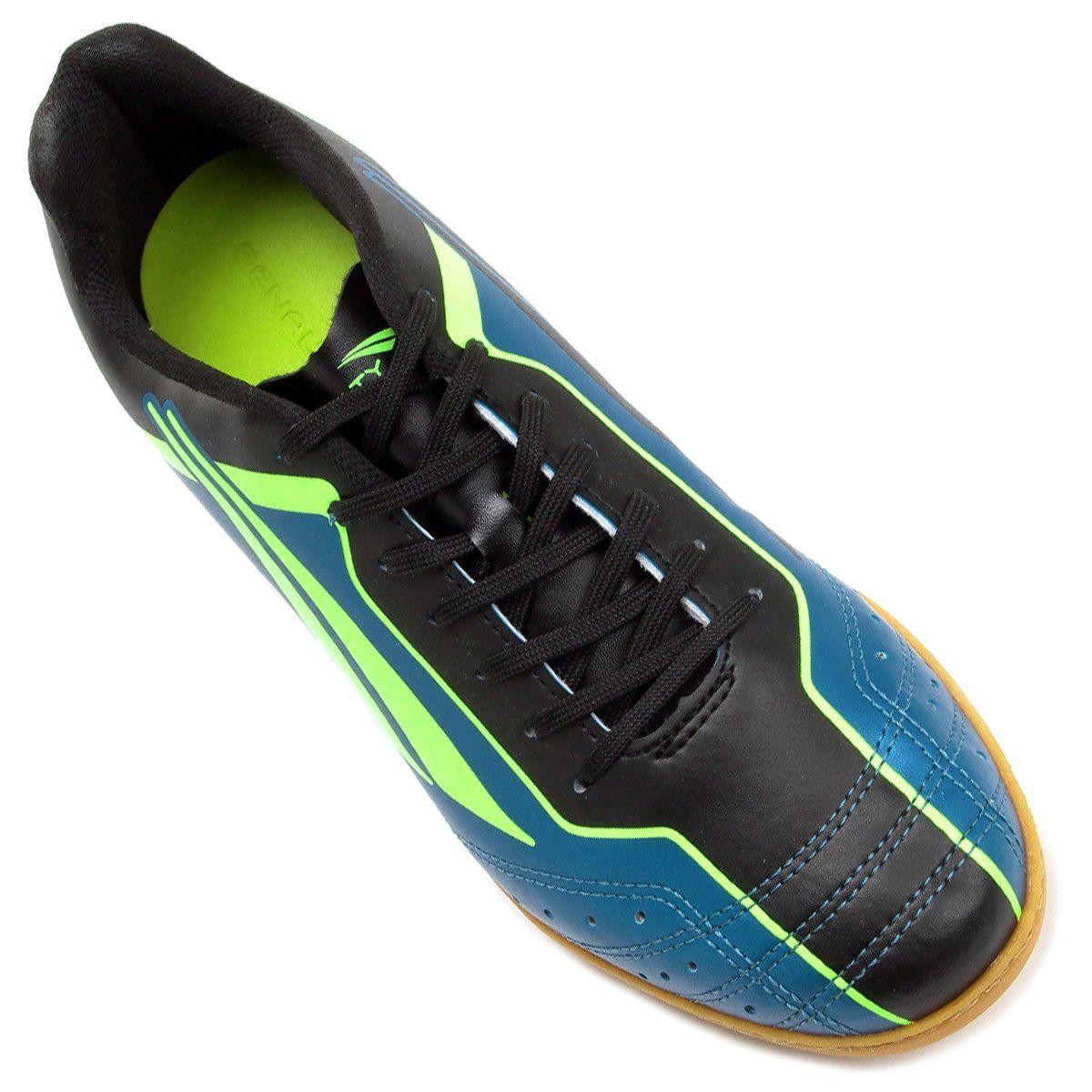 536e5899e3 Chuteira Futsal Penalty Matis VI Masculino - Azul Verde - Joinville ...